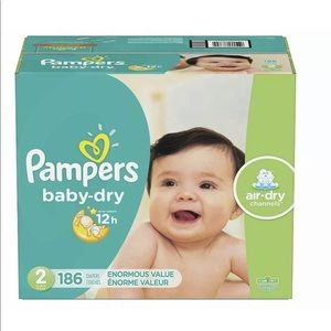 Pampers size 2 new in box